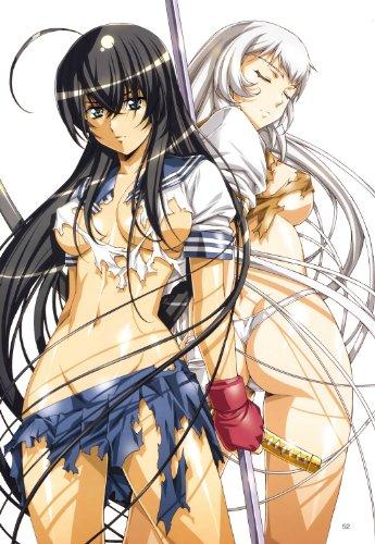 Papier peint photo Nippon Collection, deux kämpferinnen après bataille atterrisant, blond et brunett, vêtements déchiré, épées dans les mains, Chemins de 4 Haute Qualité Papier peint intissé, 186 x 270 cm