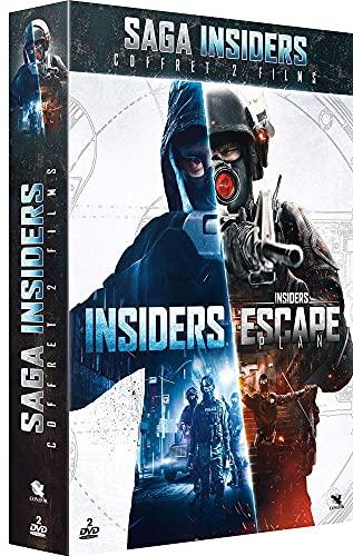 Coffret insiders 1 et 2 : insiders ; escape plan