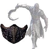 Noob Saibot Mask Mortal Kombat 11 Cosplay Costume Accessories for Adult Halloween