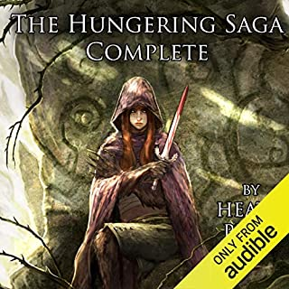 The Hungering Saga Complete cover art