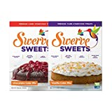 Swerve Sweets, Cake Mix Bundle, Chocolate and Vanilla Cake Mixes