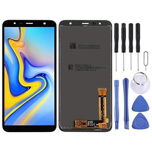 Telefoons Vervangende Onderdelen Toolkit LCD-scherm en Digitizer Volledige montage voor Galaxy J6+, J4+, J610FN/DS, J610G, J610G/DS, J610G/DS, J415F/DS, J415FN/DS, J415G/DS (zwart) Screen Glass Kit + Volledige reparatie, Zwart
