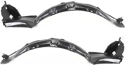 For Acura Legend Splash Guard/Fender Liner 1991 92 93 94 1995 Driver and Passenger Side Pair/Set | Front | Sedan | All Submodels | AC1248103 + AC1249103 | 74151SP0000 + 74101SP0000