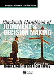Blackwell Handbook of Judgment and Decision Making Book Cover