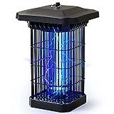 Kassbosa Lámpara Antimosquitos Electrico,18W UV LED Mata Mosquitos Impermeable,Insectos Trampa con Cepillo Limpio y 2 Tubos,4000V Colgando Mosquitos Killer para Cocina Dormitorio Exterior y Interior