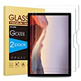 Sparin Tempered Glass Screen Protector for Surface Pro 4-7 [2-Pack]