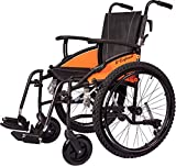 Excel G-Explorer All Terrain, Lightweight, Folding, Manual Self Propelled Aluminium Wheelchair, Quick Release