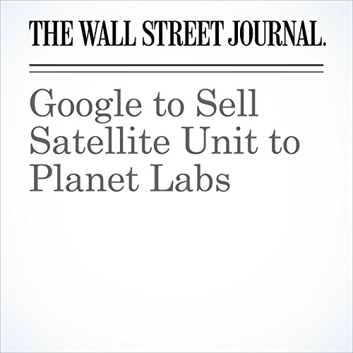 Google to Sell Satellite Unit to Planet Labs copertina