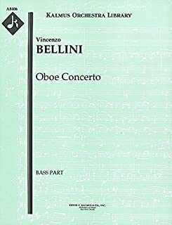 Oboe Concerto: Bass part (Qty 4) [A8406]