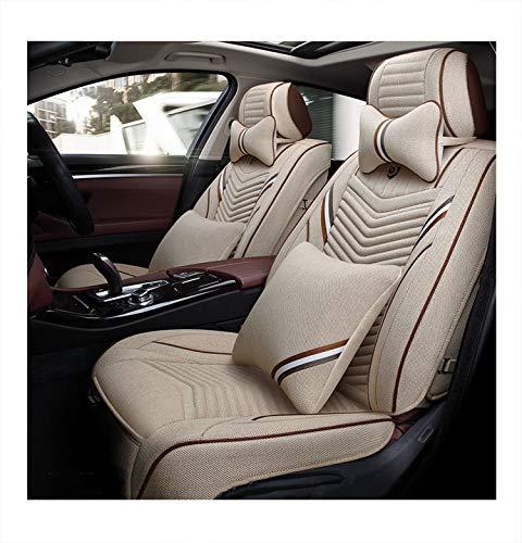 ZCY autostoelhoezen van goede kwaliteit, rondom, originele auto beschermt de stoel tegen stof. beige