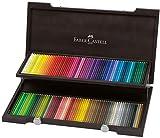 Faber-Castell 110013/180963 120 Polychromos Artist Coloring Lápiz en Wenge Wood Case