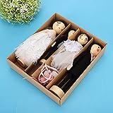 Juego de muñecas de Boda, Amigo para decoración del hogar