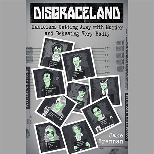 Disgraceland audiobook cover art