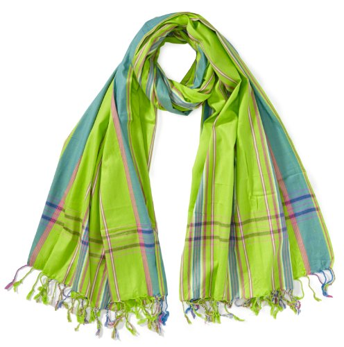 Kikoyland - Echarpe - SK188 - Mixte - Vert (Green) - One Size (Taille fabricant: one size (OS)