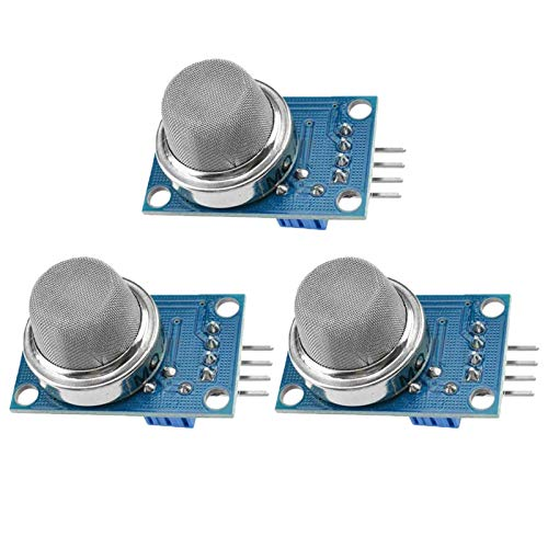 ZHITING MQ135 MQ-135 - Módulo de detección de gas peligroso para Arduino (3 unidades)