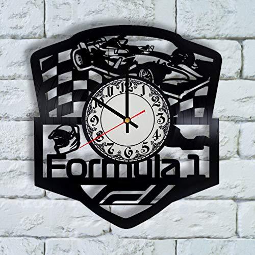 Formula 1 Wall Clock - Racing Wall Decor - Grand Prix Wall Art