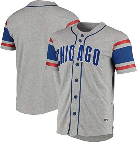 Fanatics Iconic Supporters Cotton Jersey Shirt - Chicago Cubs - L