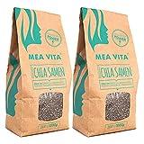 MeaVita Premium Chia Samen, 2er Pack (2 x 1 kg)
