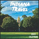 Indiana Travel Calendar 2022: 2021-2022 Indiana Weekly & Monthly Planner   2-Year Pocket Calendar   19 Months   Organizer   Agenda   Appointment   For Indiana Lovers