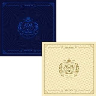 AOA [ANGEL'S KNOCK] 1st Album A/B Random Ver. CD+Photobook+PhotoCard+Postcard+Tracking Number SEALED