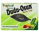 Dudu Osun - Jabn tropical puro que restaura la piel daada, color negro natural, 150 g.