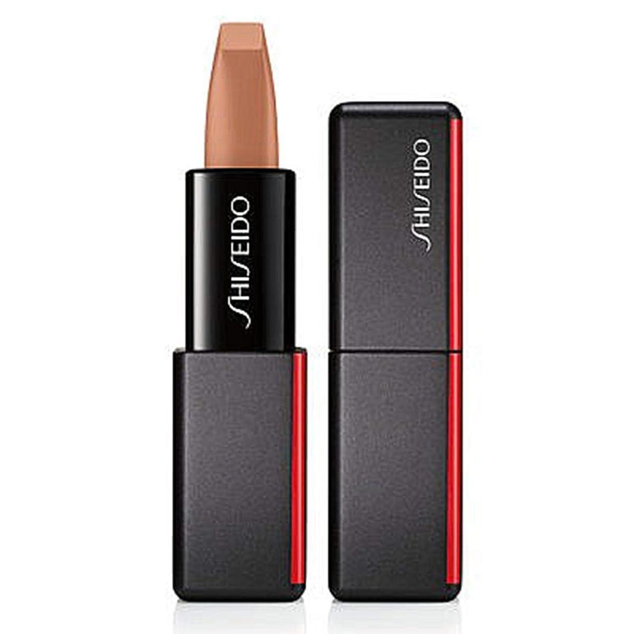 ホーン着替える夢中資生堂 ModernMatte Powder Lipstick - # 503 Nude Streak (Caramel) 4g/0.14oz並行輸入品