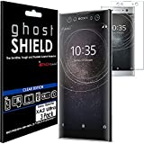 TECHGEAR [3 Pack] Protection Écran pour Xperia XA2 Ultra [ghostSHIELD] Film de Protection Souple en...