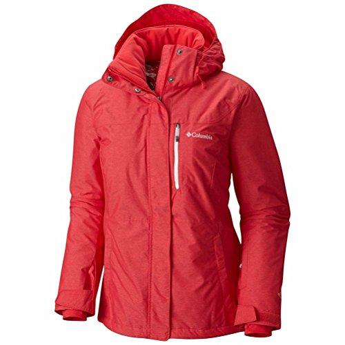 Columbia Chaqueta Alpine Action Oh para mujer, Mujer, 1562242, Camelia roja, 1 unidad