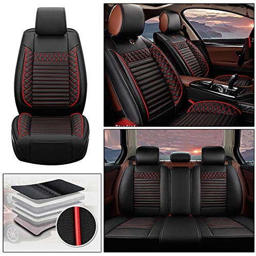 Handao-US Fundas de asiento de coche para Skoda Yeti, 5 asientos, protección impermeable para todo