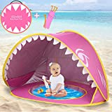 Best Beach Tents For Babies - Camlinbo Baby Beach Tent Pop- Up Portable Shark Review
