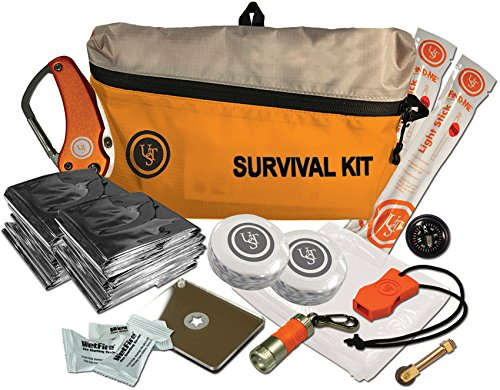 ust Featherlite Survival Kits with Lightweight Design and Essential Survival Supplies for Hiking, Camping, Backpacking, Emergency and Outdoor