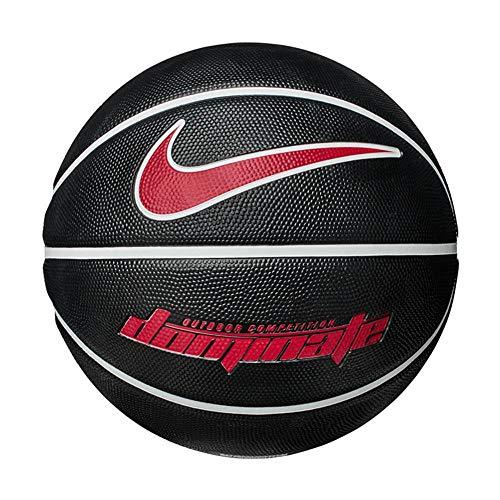 Nike Herren Dominate 8P Basketball, Black/White/White/University RED, 7