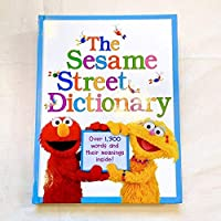 セサミストリート 英語絵本 辞典辞書 知育玩具 エルモ クッキーモンスター