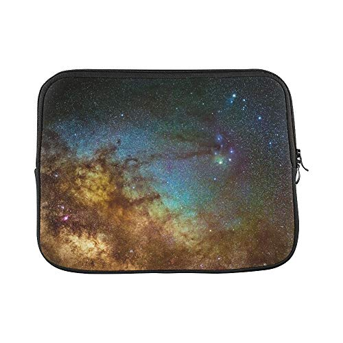 Design Custom Picture Milkyway Galaxy Around Scorpius Area Sleeve Soft Laptop Case Bag Pouch Skin for Air 11'(2 Sides)