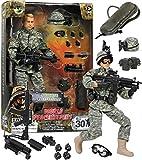 Click N' Play CNP30442  Military Airborne Infantry Troop 12