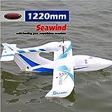 DYNAM RC Airplane Seawind Blue 1220mm Wingspan - PNP