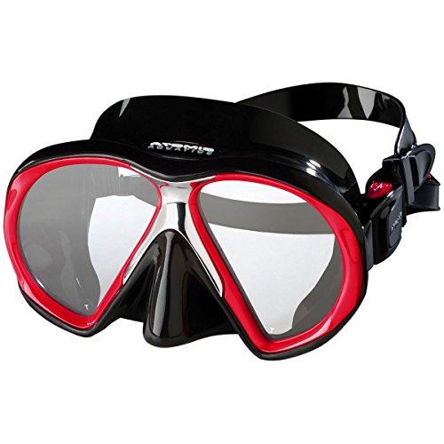 Atomic Sub Frame Mask (Black/Red, Med Fit)