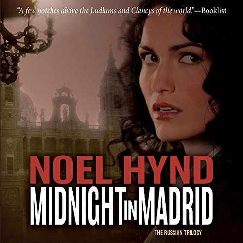 Midnight in Madrid audiobook cover art