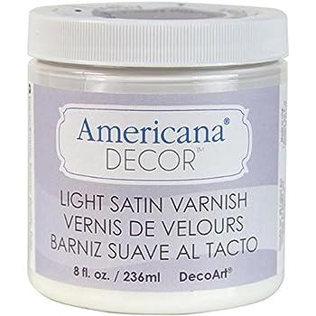 Verwonderlijk Amazon.com: Deco Art Soft Touch Varnish, 8-Ounce, Clear: Arts MI-46