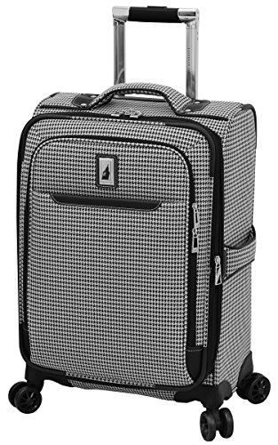 London Fog Cambridge II 20' Expandable Spinner, Black White Houndstooth