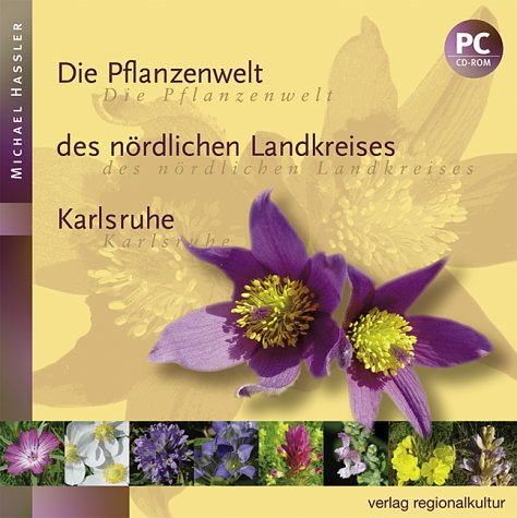 Die Pflanzenwelt des nördlichen Landkreises Karlsruhe, CD-ROM