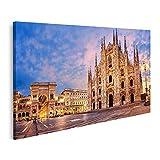 Bild Bilder auf Leinwand Mailänder Dom Dom Di Milano