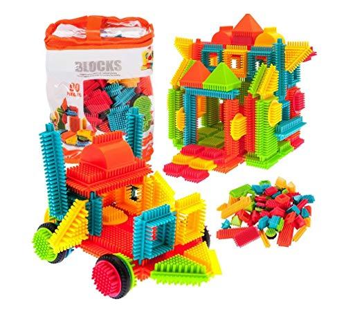 90 bloques de construcción geniales para manualidades, juego creativo para niños