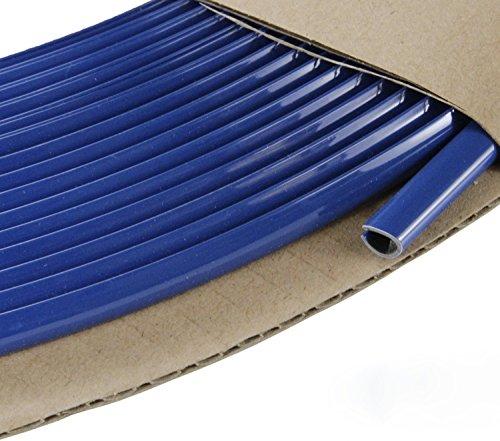 phil trade® Keder U Profil Zierleiste Kantenleiste KfZ Türleiste in verschiedenen Längen (1 Meter Blau)