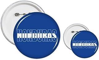 Pin's drapeau du Honduras - Kit de création de boutons et badges