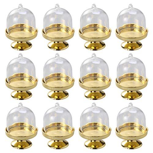 Yardwe - Set de 24 campanas para tartas con campana y campana para queso o tartas