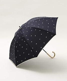 [ アフタヌーンティー リビング ] AfternoonTea LIVING プチフラワー刺繍晴雨兼用長傘 日傘
