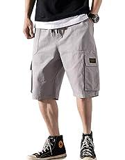 f20504583f8f7 IKFSDFパンツ メンズ 5分丈 ミディアムパンツ ジョガーパンツ 5分丈 ショートパンツ ズボン