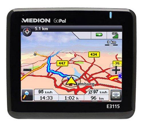 Medion GoPal E3115 PND Navigationssystem D / A / CH & Hauptstrassen Westeuropa