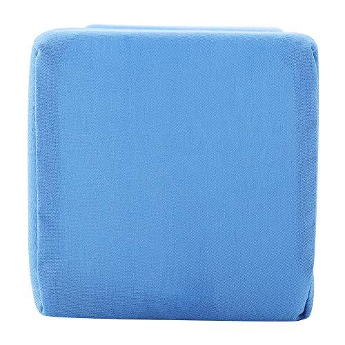 Cojín de cuña de esponja extraíble para húmero(azul, Los 20 * 10 * 10cm)